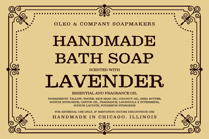 Lavender Bath Soap
