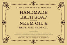 Load image into Gallery viewer, Neem Oil Bath Soap