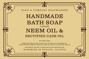 Neem Oil Bath Soap