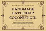 Coconut Oil Bath Soap