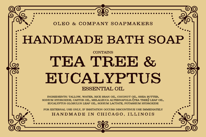 Tea Tree & Eucalyptus Bath Soap