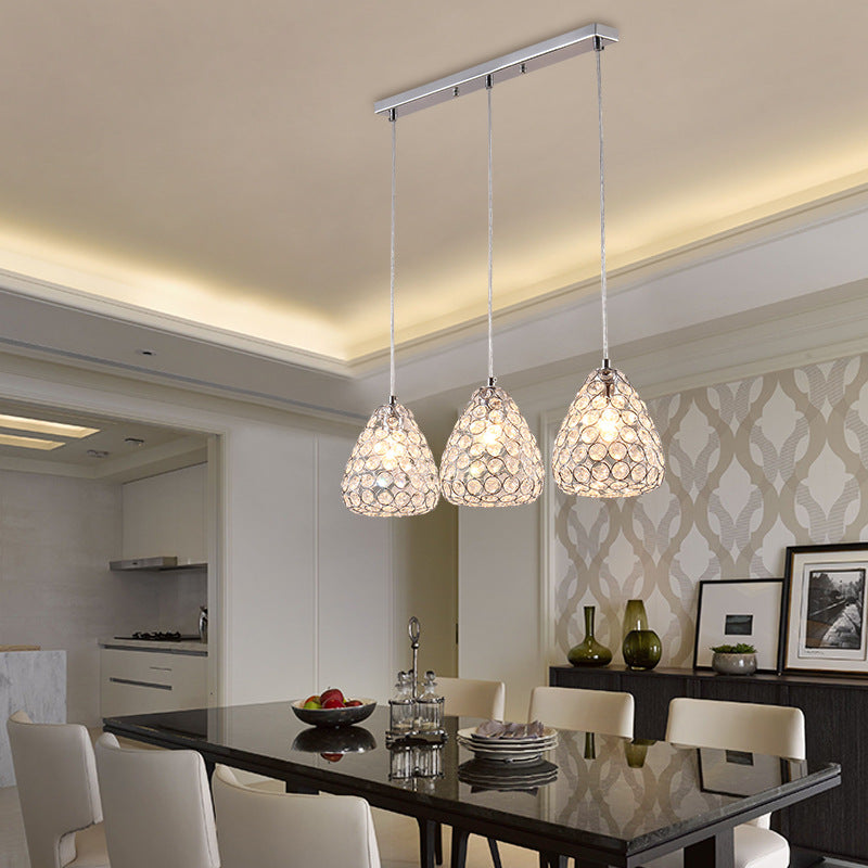 Qukau Modern Simple Living Room 3 Heads E27 Lamp Dining Room Pendant L Qukau,What Color Should I Paint My Ceiling