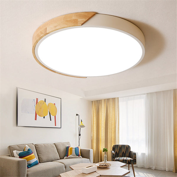 QUKAU ceiling lamp 36W remote control led ceiling lamp diameter 40CM light dimmable dinning room lighting bedroom