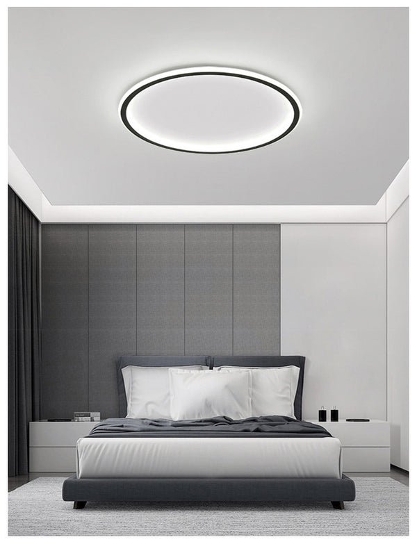 QUKAU Led ceiling lamp modern ceiling light remote control lamp home fashion bedroom lamp room