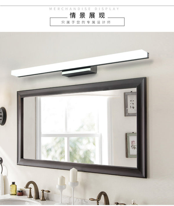 QUKAU Waterproof and anti fog 9w 40cm bathroom lighting mirror lamp wall lamp