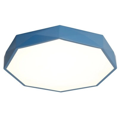 QUKAU LED ceiling light diameter 40CM 24W 3 colors dimmable remote control ceiling lamp
