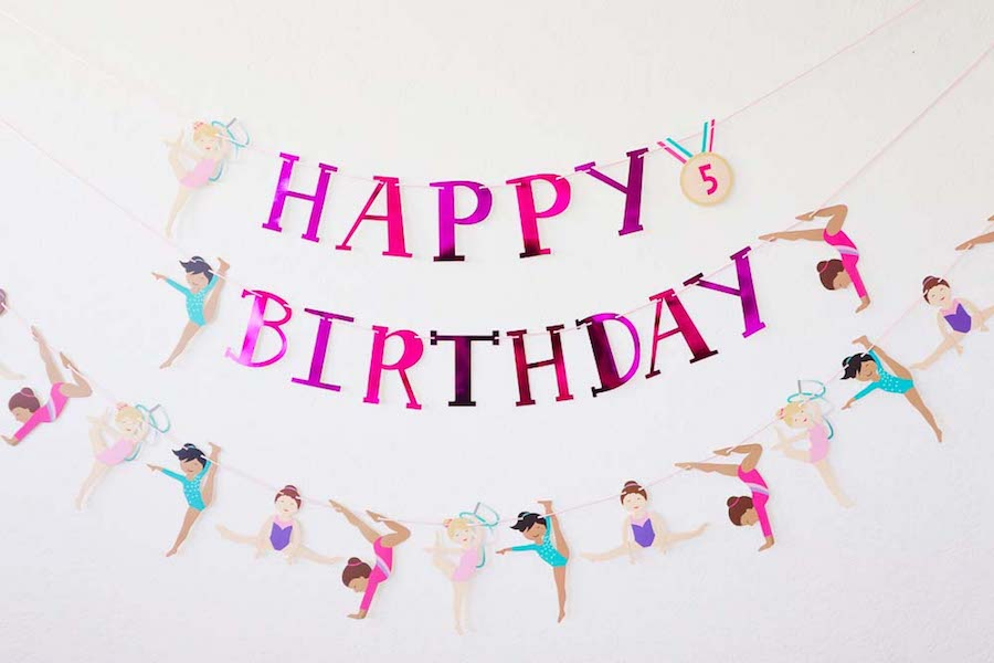 Ideas for a Gymnastics Themed Birthday Party