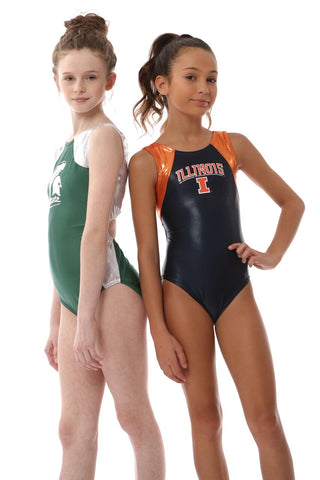 officially licensed college gymnastics leotards