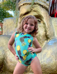 Summer Pineapples Leotard
