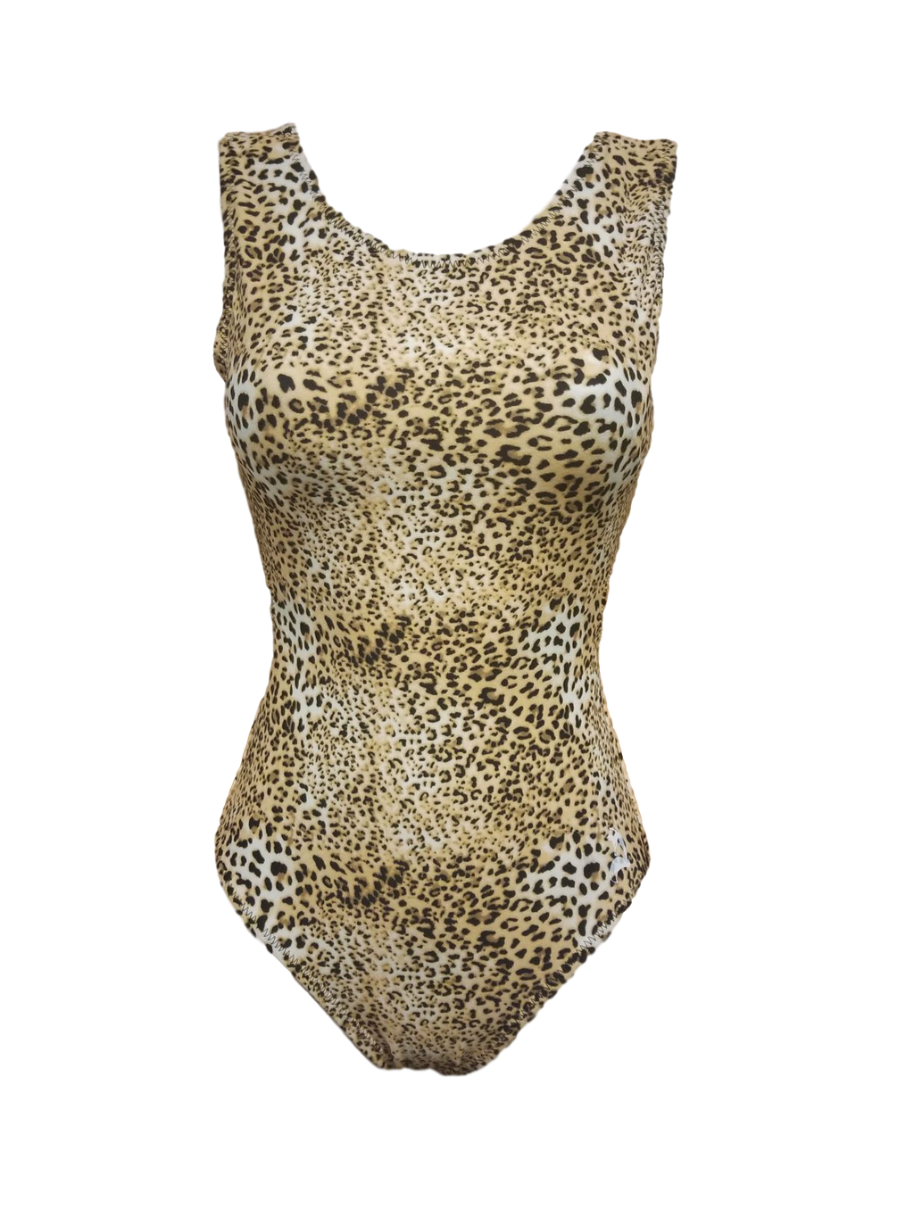 Ultra soft cheetah print leotard for youth and adult