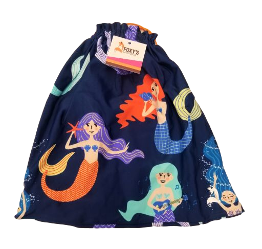mermaid grip bag