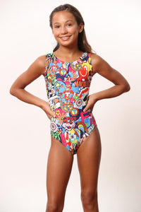 ULTRA SOFT Cartoon Nation Leotard