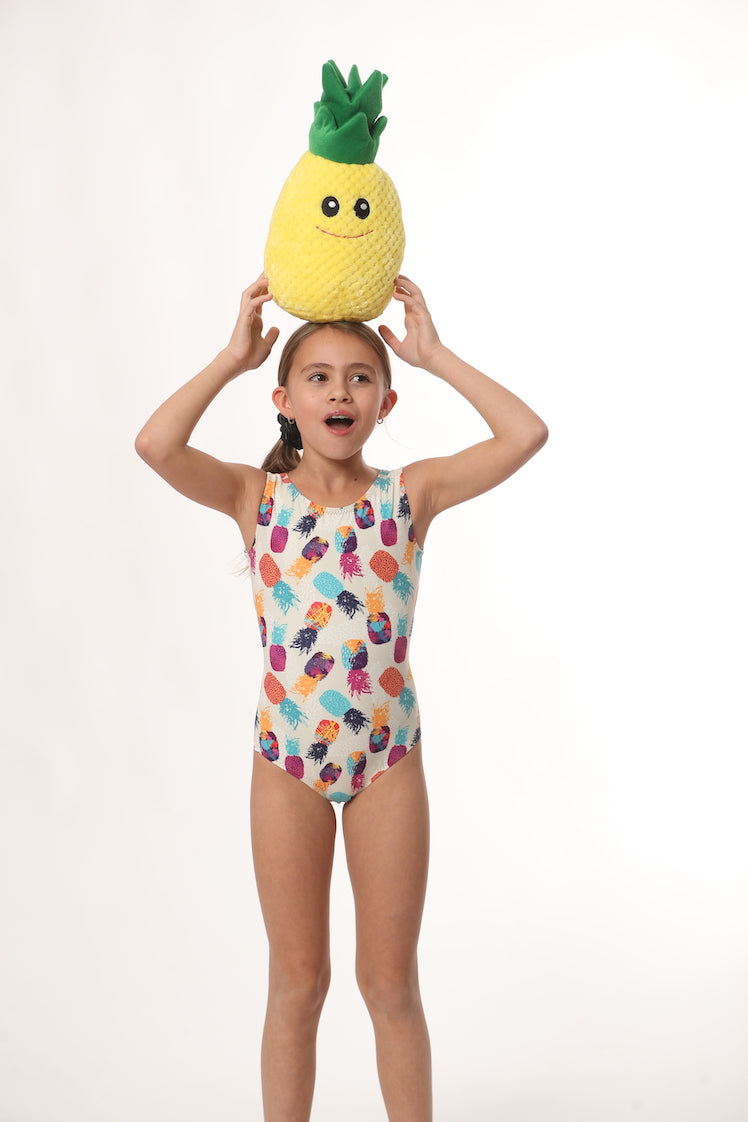 ultra soft leotards for gymnastics with pineapples
