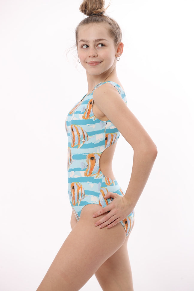 ultra soft leotard for girls gymnastics and dance