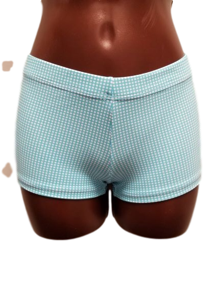 LIMITED EDITION - Summer Blue Check Short