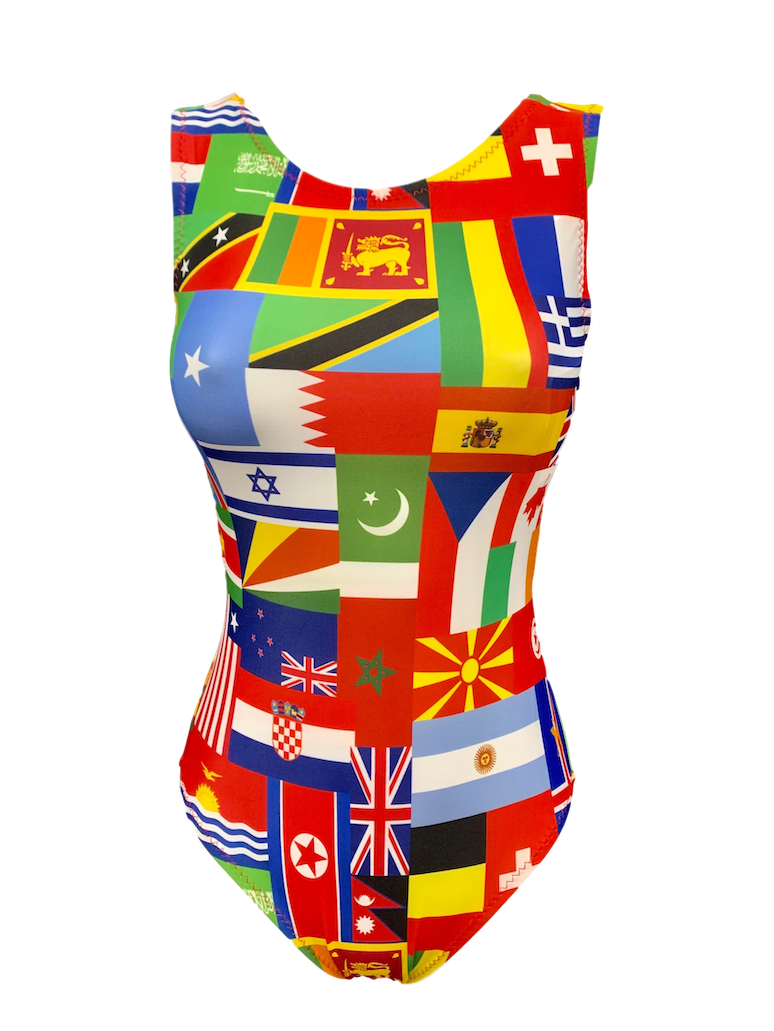 All Nations United Leotard