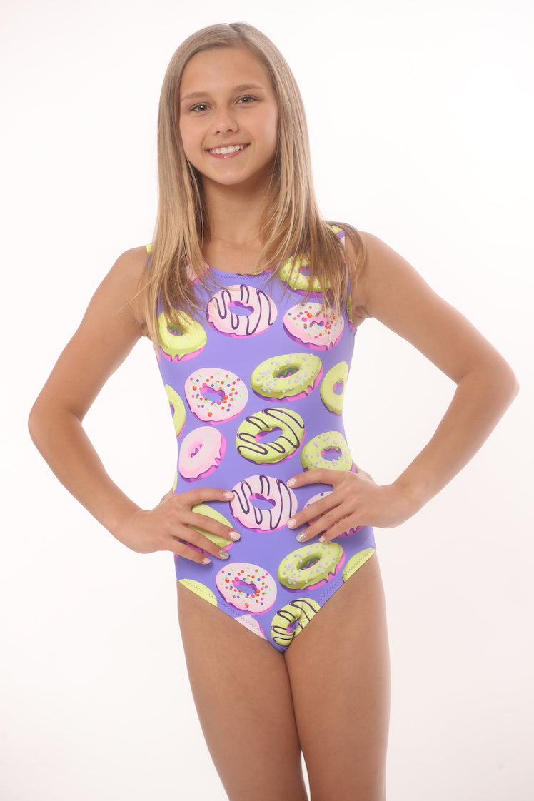 leotard with donuts