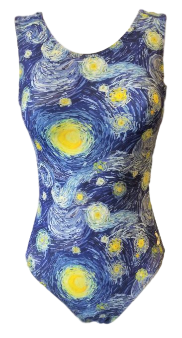 gogh for the gold leotard