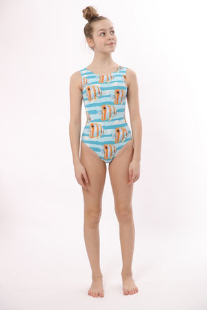 ULTRA SOFT Just Keep Swimming Leotard