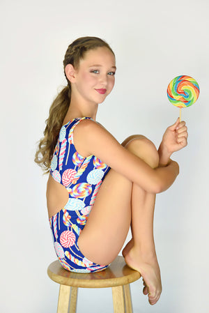 candy themed leotards