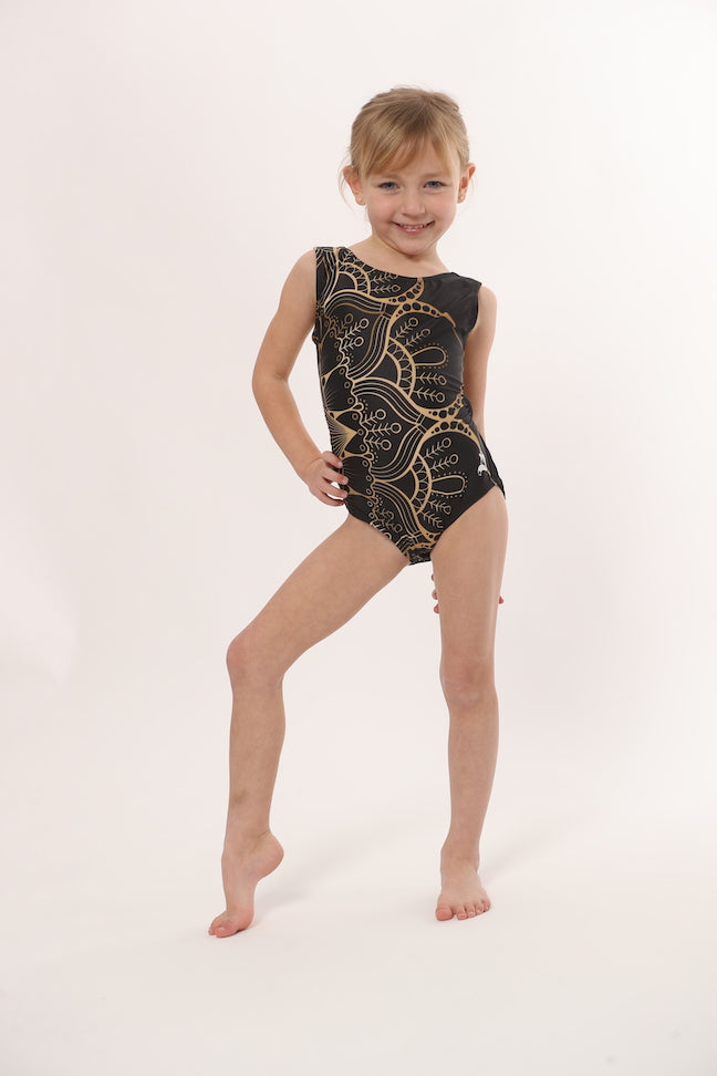 LIMITED EDITION: Gold Mandala Leotard