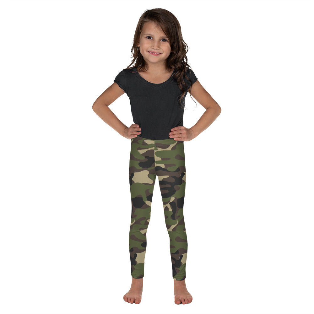 Kid's Yoga Leggings (Camouflage)