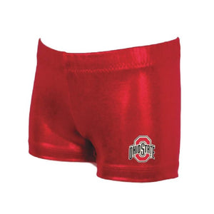 ohio college gymnastics gym shorts