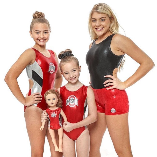 Ohio State Leotard