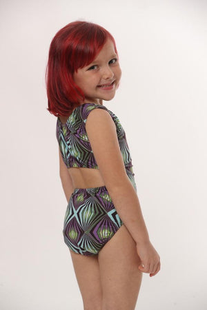 open-back tank leotard for gymnasts dancers and more