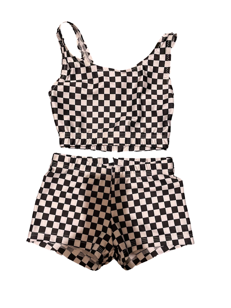2-piece dance outfit for girls