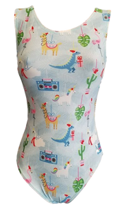 whimsical christmas leotard