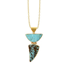 turquoise pendant <br><i>Spiderweb No. 8 Mine </br></i>