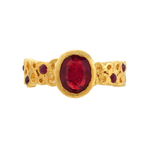 ruby ring <br><i>Hawa Collection</i></br>