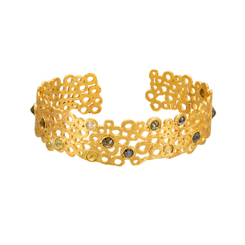 Hawa Cuff Bracelet <br><i>Hawa Collection</br></i>