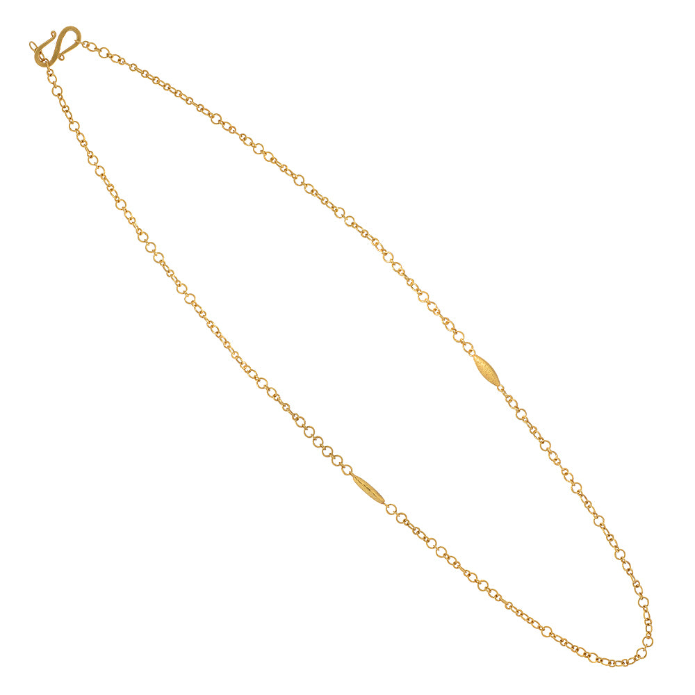 JSN Signature 18K gold chain necklace