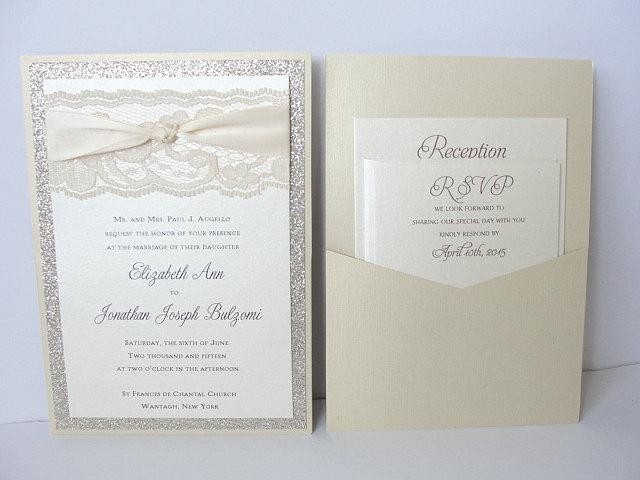 Glitter Invitation, Wedding Invitation, Elegant Wedding Invitation, Rustic Wedding Invitation, Vintage Wedding Invitation,COCO - FLIP KNOT