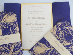 Peacock Wedding Invitation, Peacock Invite, Peacock Wedding, Peacock Invitation, Wedding Invitation, Wedding Invite, SARAHIE - 18