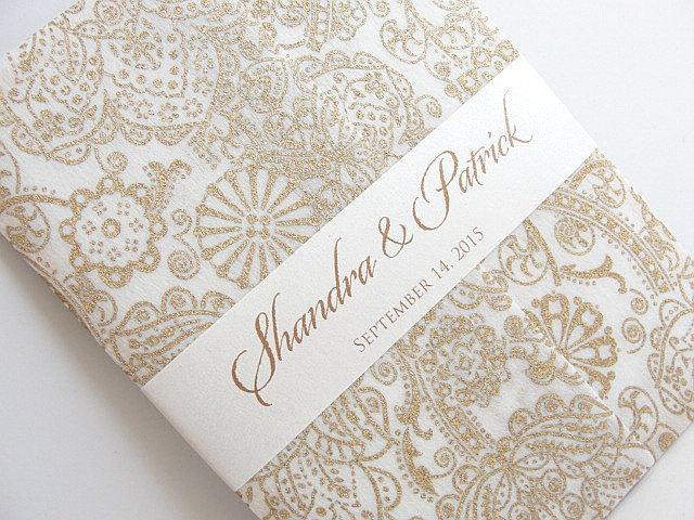 Wedding Invitation, Wedding Invite, Unique Invitation, Indian Invitation, Bridal Shower Invite, Gold Invitation, SARAHIE-13