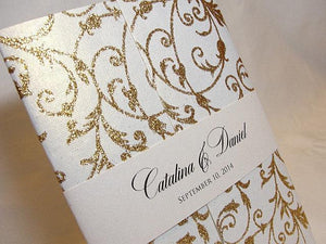 Wedding Invitation, Wedding Invite, Unique Invitation, Indian Invitation, Bridal Shower Invite, Gold Invitation, SARAHIE