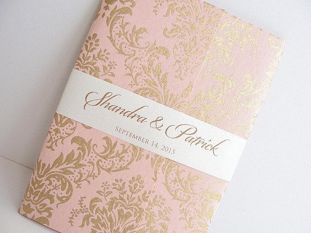 Wedding Invitation, Wedding Invite, Unique Invitation, Indian Invitation, Quinceanera Invitation, Pink Invitation, Pink Invite, SARAHIE -10