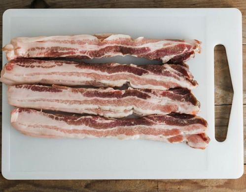 Pasture Raised Uncured Pork Bacon
