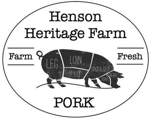 Pasture Raised Pork - Full