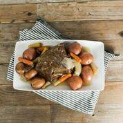 Grass Fed Beef Chuck Pot Roast