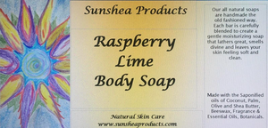 Raspberry Lime Body Soap
