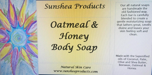 Oatmeal & Honey Body Soap
