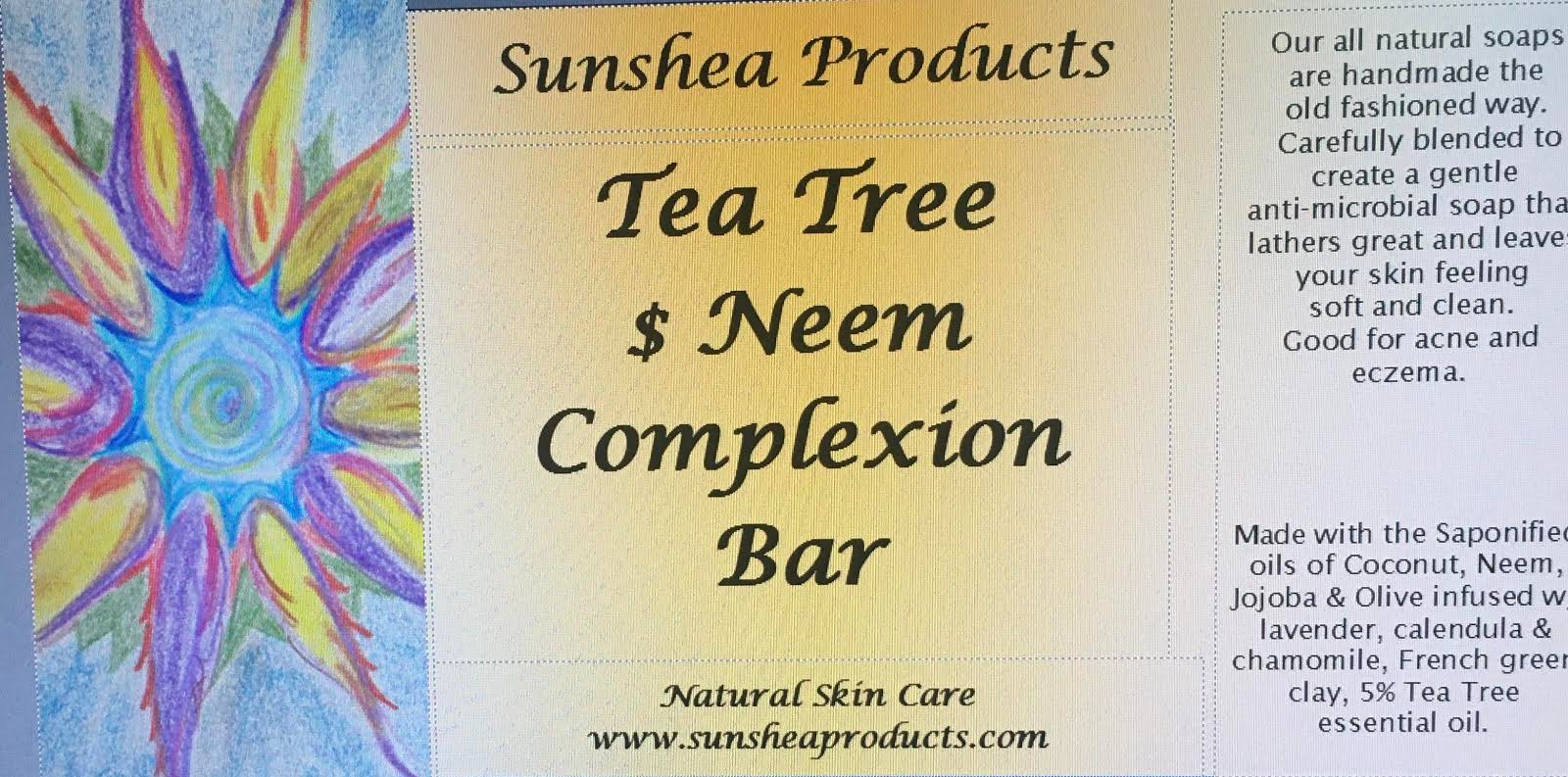 Tea Tree & Neem Complexion Bar