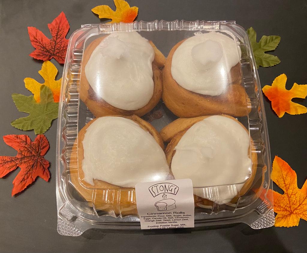 Cinnamon Roll Package