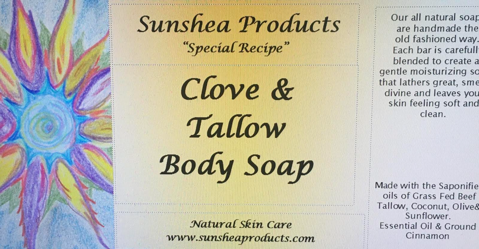 Clove & Tallow Body Soap
