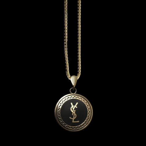 5bdf92282a9 YSL Logo Necklace