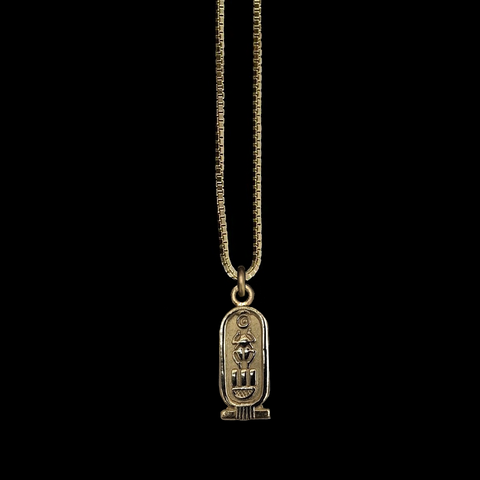 Egyptian Cartouche - Solid Gold